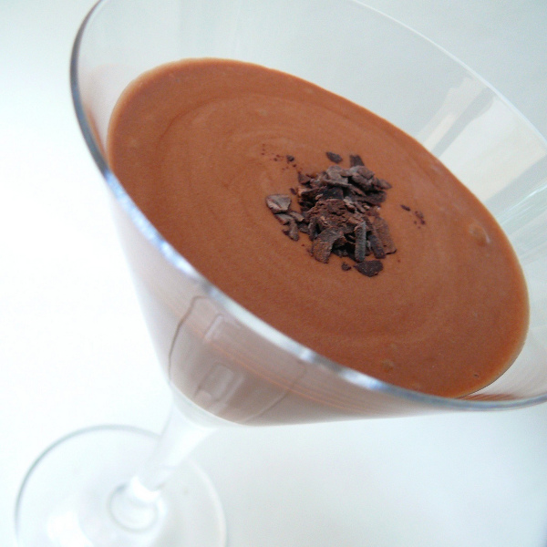 Espuma de chocolate