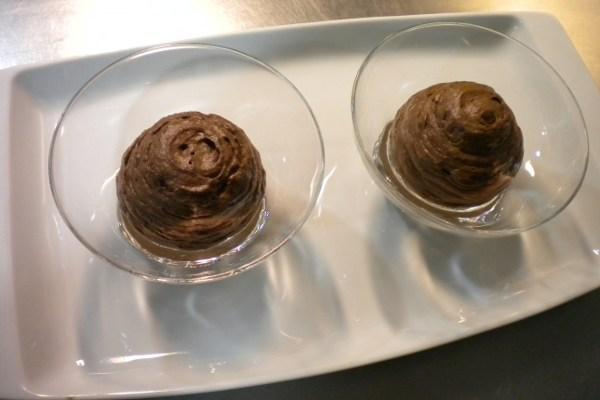 Mus de chocolate