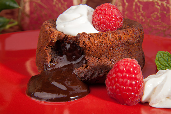 Holiday Lava Cake