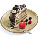 tarta de moka y chocolate