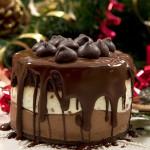 Tarta Helada de Tres Chocolates