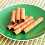 barquillos rellenos de chocolate