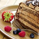 Pastel de Bizcocho y Mousse de Chocolate