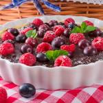 Tartaleta de Chocolate y Frutos Rojos